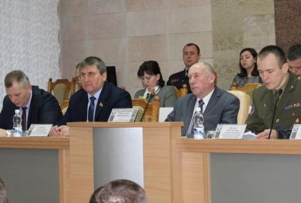 На заседании Дзержинского районного исполнительного комитета 24.01.2020